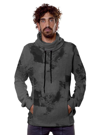 Midweight Camouflage Pullover with Turtle Neck