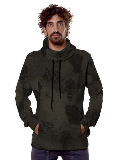 Plazmalab Midweight Camouflage Pullover with Turtle Neck