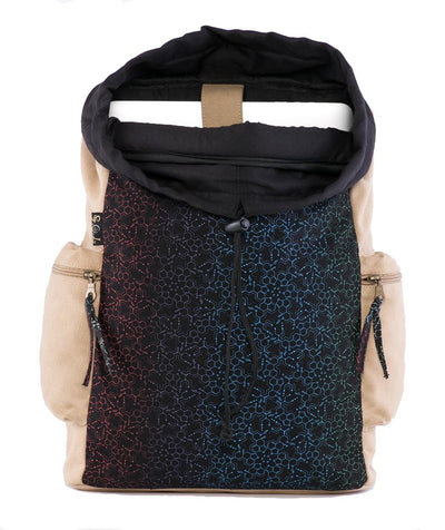 LSD Molecule Psy Laptop Backpack