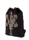 Om Key Sacred Geometric Drawstring Sack Bag