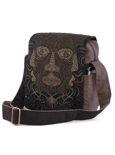 Aztec Mask Cross body Bag