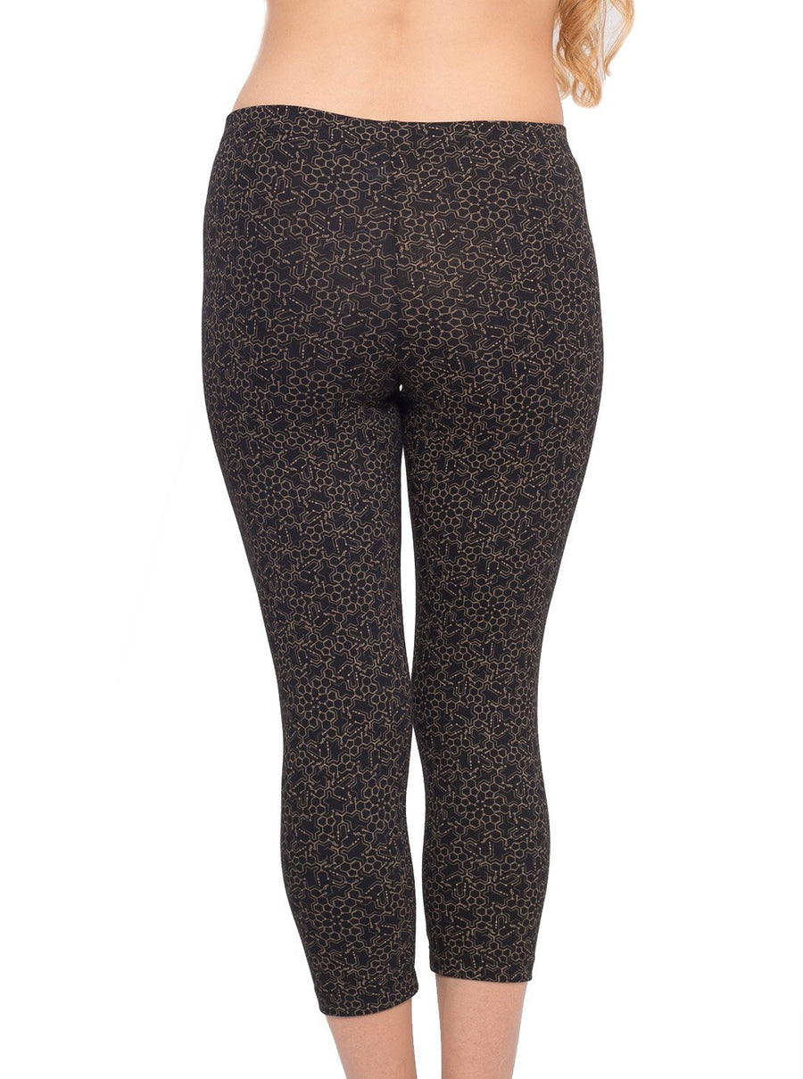 LSD Molecule Yoga Leggings