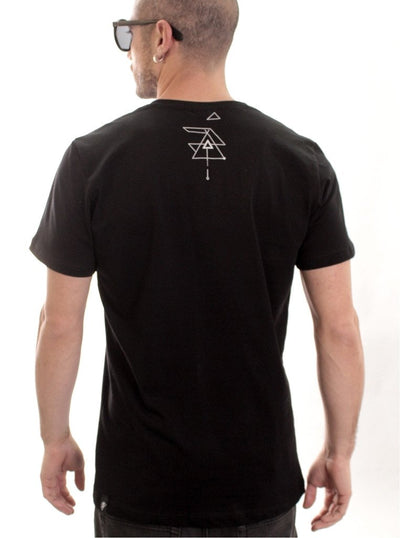 new-age black t-shirt for men