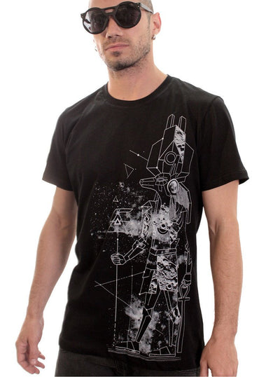 egyptian black t-shirt for men