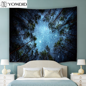 4 size Indian Mandala Tapestry Forests Wall Hanging Tapestries Boho Bedspread Yoga Mat Blanket Beach Towel Picnic Table Cloth