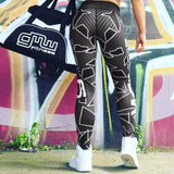 2017 Brand New Women Sport High Waisted Leggings Jeggings Trouser Skinny Stretchy Workout Pants Leopard Printed Yoga Pants