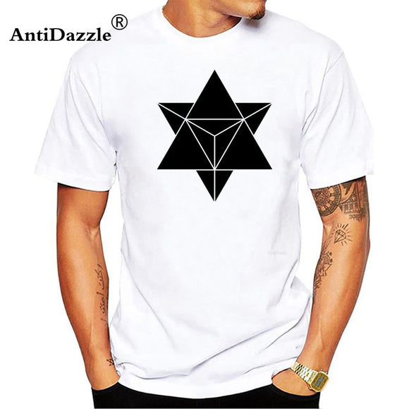 Antidazzle Sacred Geometry Minimal Hipster Line Art T Shirt Boy Cotton O Neck Tshirt Teens Clothing 2017 Exercise T-shirt