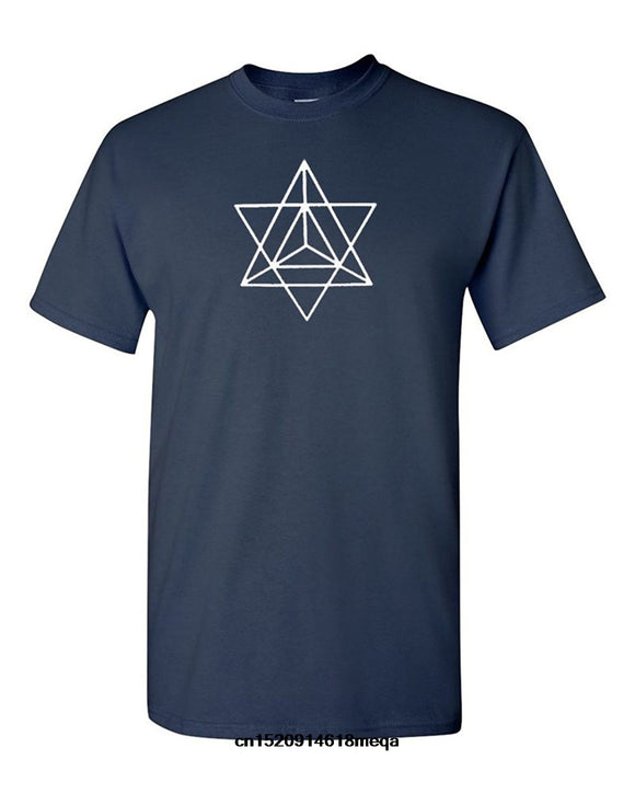 Gildan t shirt Secret Sacred Geometry Merkava Merkaba T-Shirt