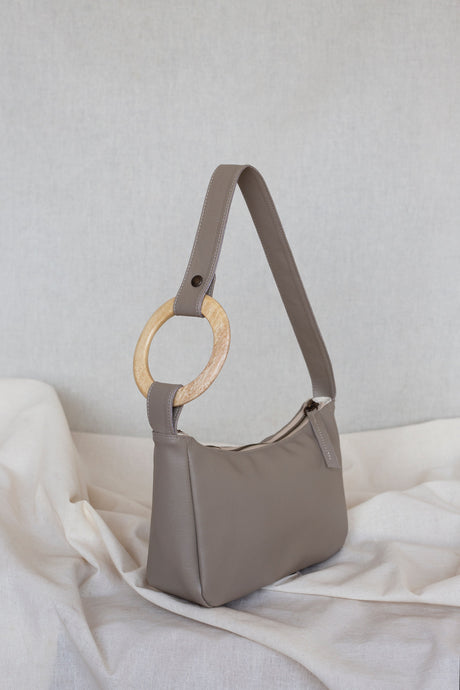 TAUPE Hobo Bag