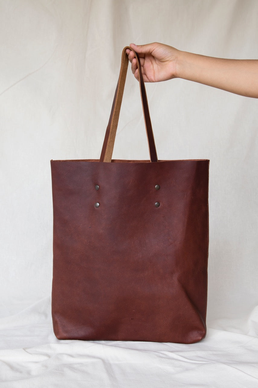 SORT Tote Brown