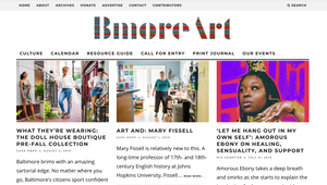 Bmore Art Magazine Feature + DHB Fall Trunk Show Details!!