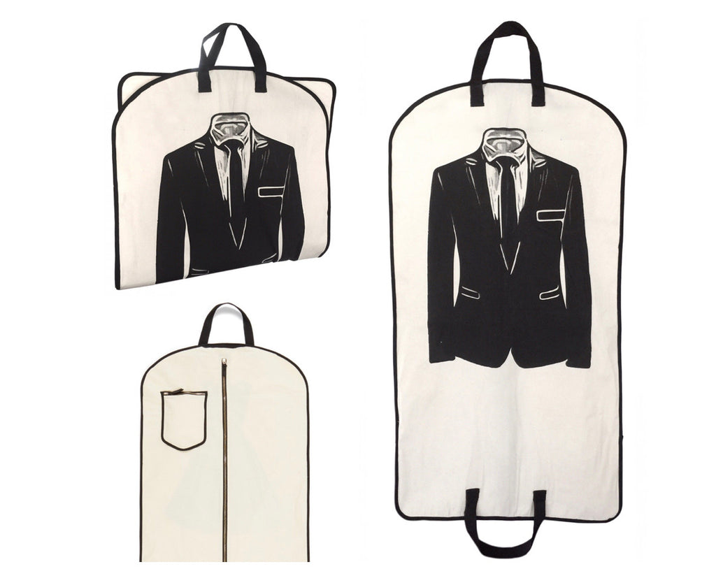 """Suit and Tie"" Garment Bag"