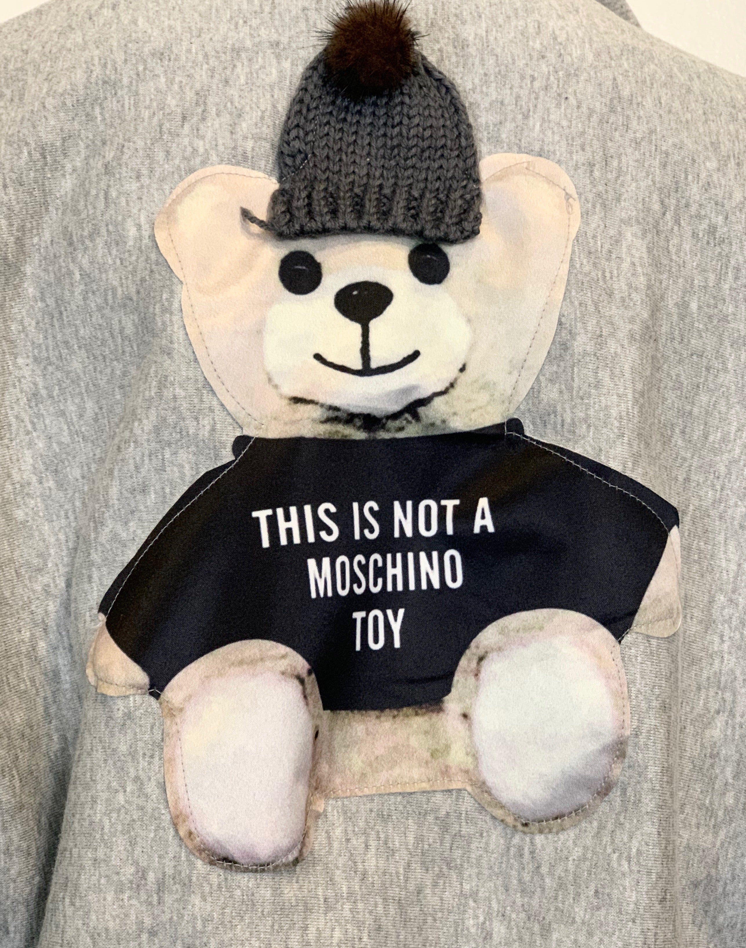 """Moschino Toy"" Puff Sleeve Hoodie"