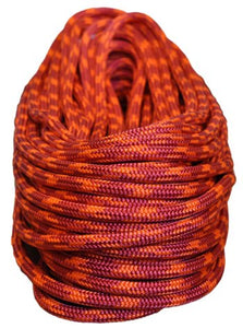 "All Gear ""Cherry Bomb"" 24-Strand Braided Polyester Climbing Rope (7/16"" x 150'), Arborist's Gear - Landscape Tools garden arborists"