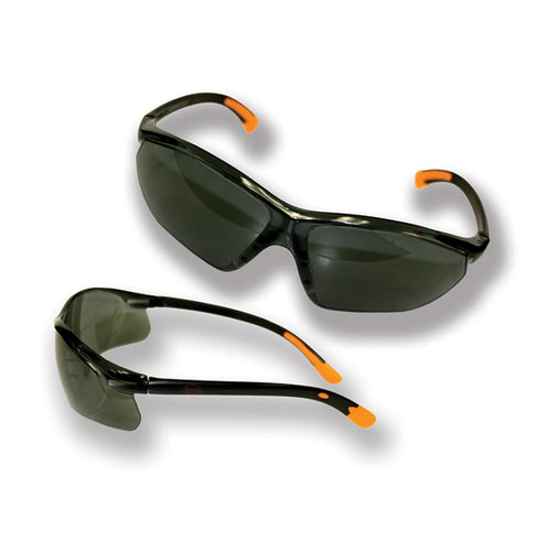 Safety Glasses - Smoke- B504BG, Safety Gear - Landscape Tools garden arborists