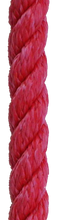 "All Gear ""Husky 3-Strand"" Twisted Polyester Bull Rope (5/8"" x 150'), Arborist's Gear - Landscape Tools garden arborists"