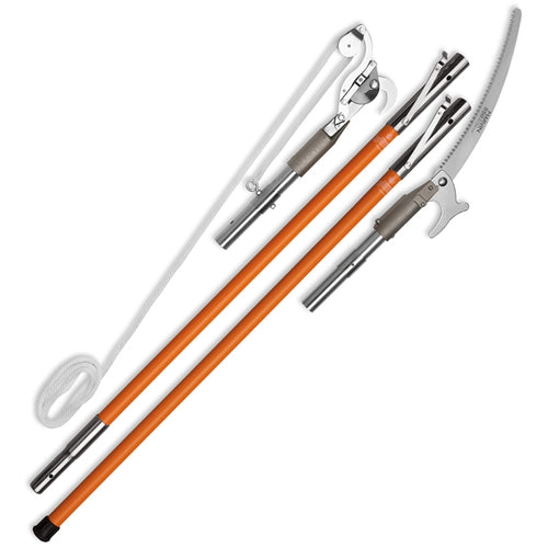 PKG-23B: Quick-Change Pole Pruner & Saw Combination Package (aluminum), Pole Pruners & Parts - Landscape Tools garden arborists