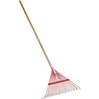 Spring Rake - Wood Handle, Garden Tools & Supplies - Landscape Tools garden arborists