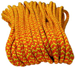 "All Gear ""Safetylite"" 16-Strand Braided Polyester Climbing Rope (1/2"" x 150'), Arborist's Gear - Landscape Tools garden arborists"