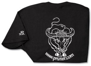 Freddy Bull T-shirt - Black, Workclothes & Accessories - Landscape Tools garden arborists