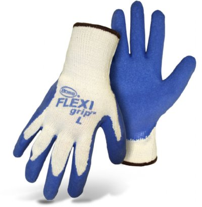 Boss Gloves 8426L Flex Grip Work Gloves, Safety Gear - Landscape Tools garden arborists