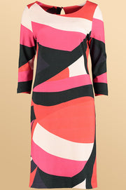 Colour Block Dress 11966