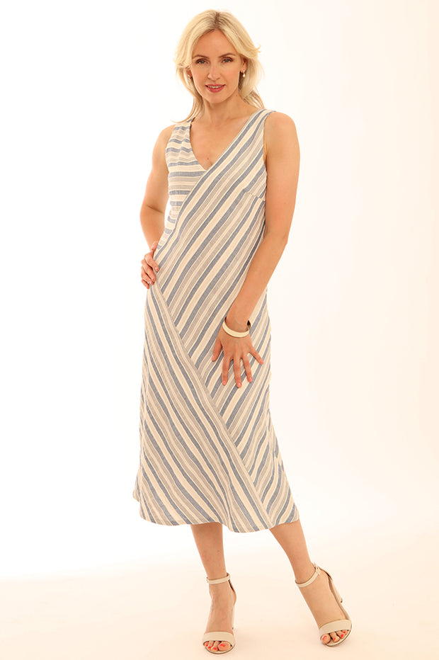 Stripe Cutabout Dress 12018