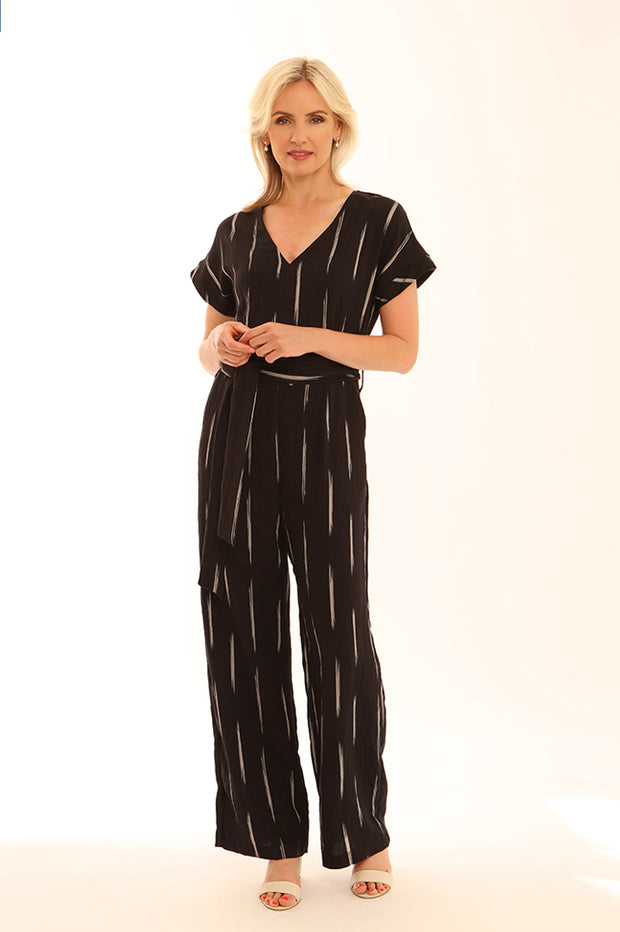 Brushstroke Jumpsuit 12020
