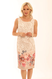 Watercolour Shift Dress 12023