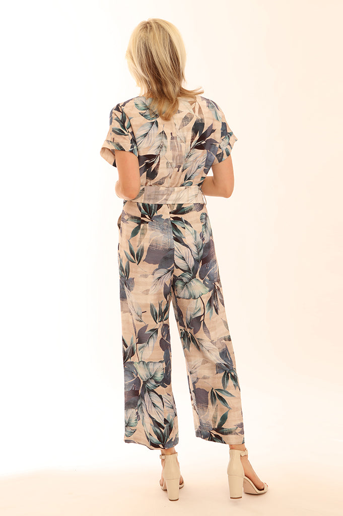 Palm Jumpsuit 12029