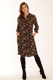 Jewel shirt dress 12078