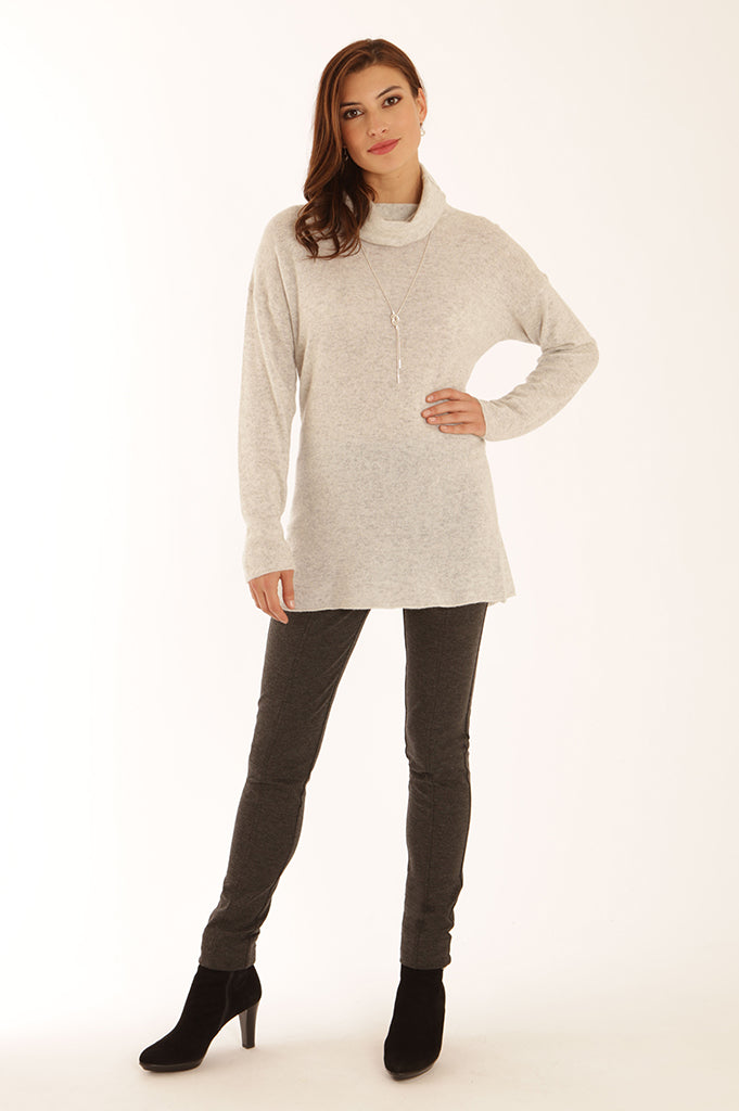 Roll neck tunic 22050