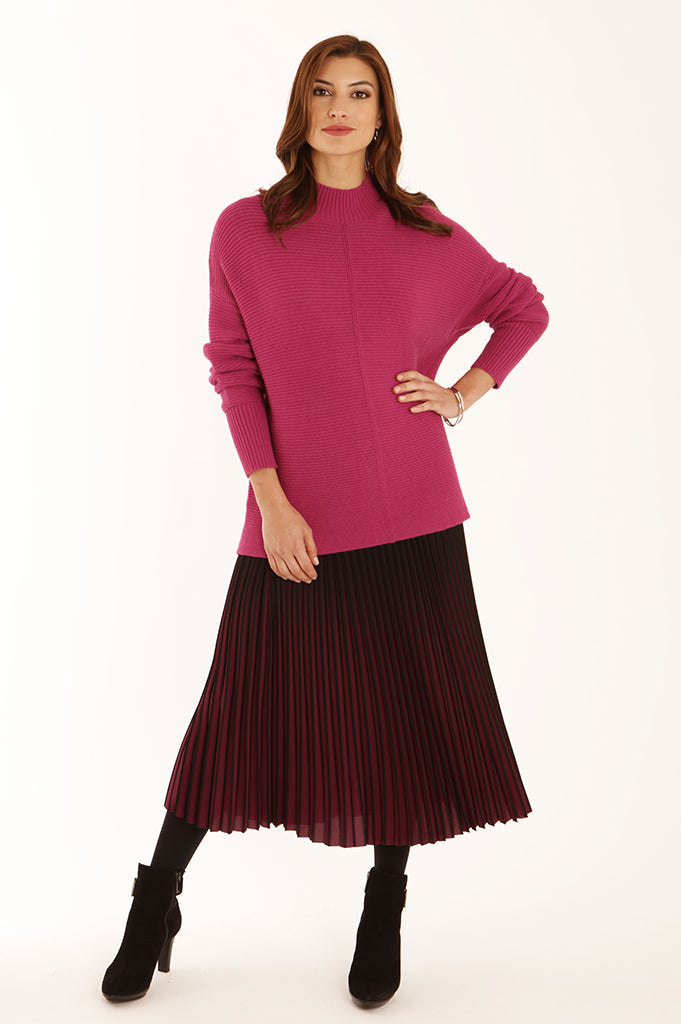 Ombre pleated skirt 62050