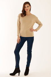 Stretch suedette jeans 52067