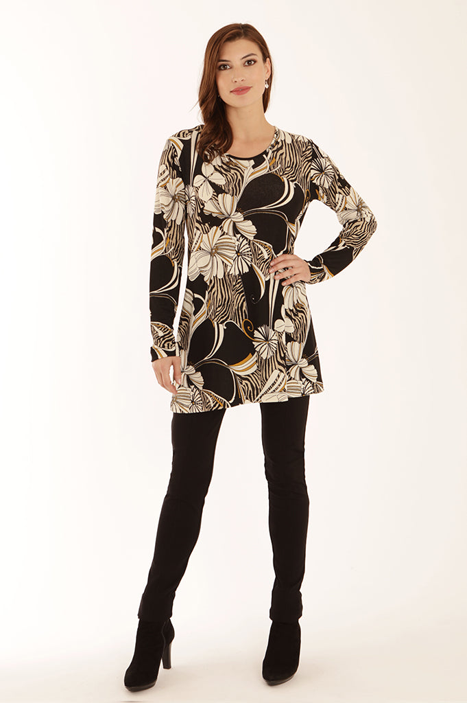 Art deco swing tunic 52069