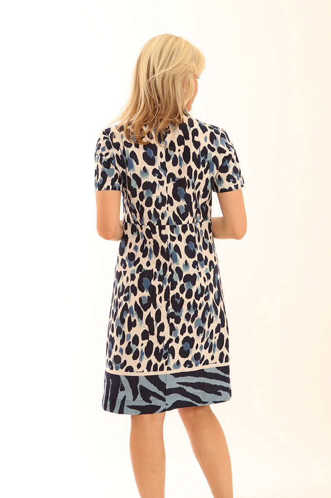 Zebra Border Safari Dress 62005