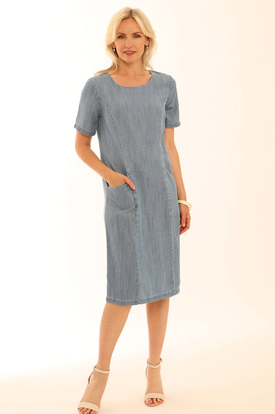 Lyocell Pocket Dress 62023