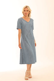 Lyocell S/L Cutabout Dress 62024A