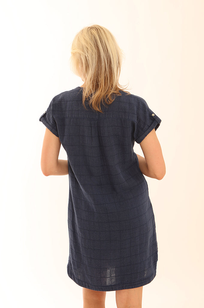 Windowpane Dress 62026