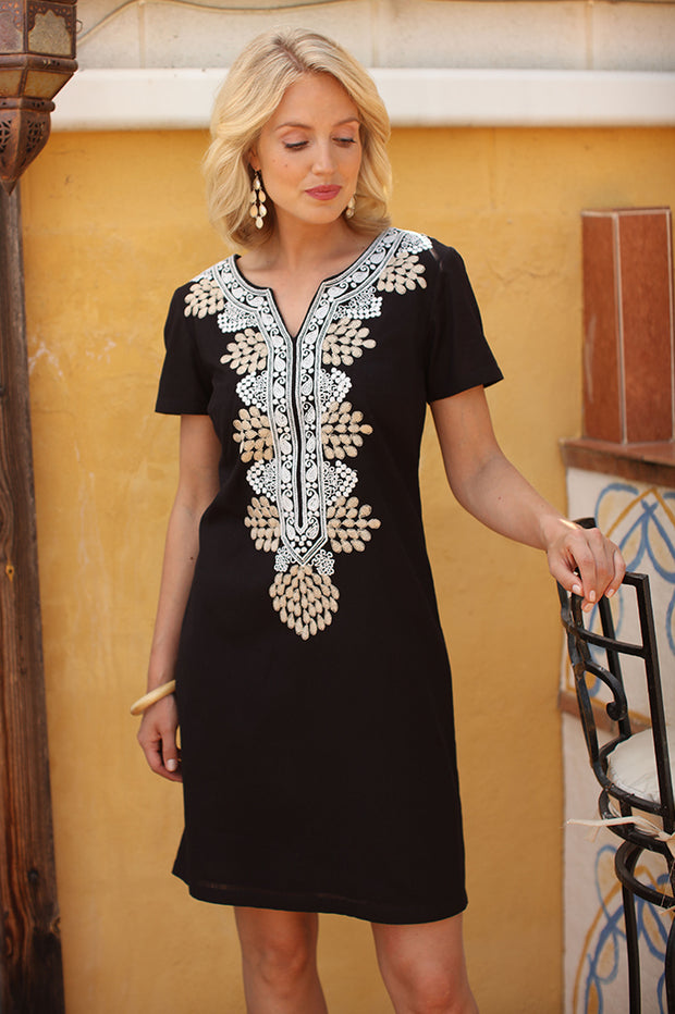 Ethnic Embroidered Dress 72000