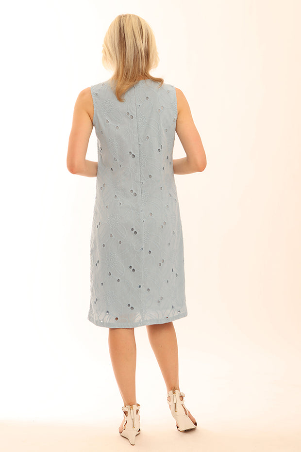 Broiderie Analgise Shift Dress 72013