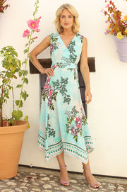 Jasmine Hanky Hem Dress 92002