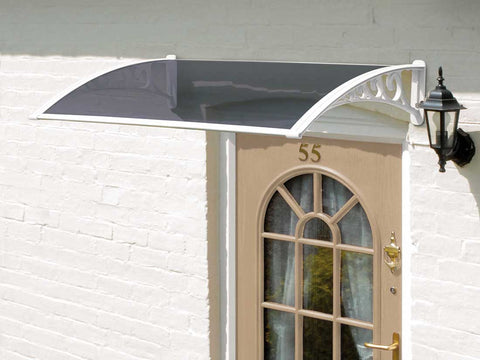 Greenhurst White Door Canopy - 1.2m
