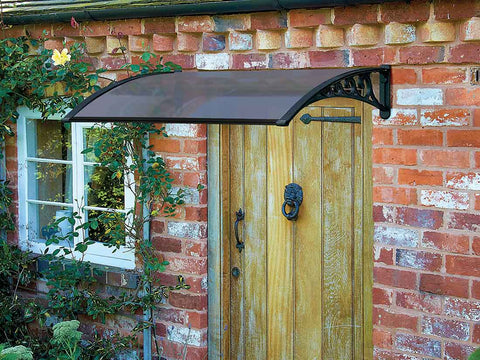 Gablemere Black Door Canopy 1.2m