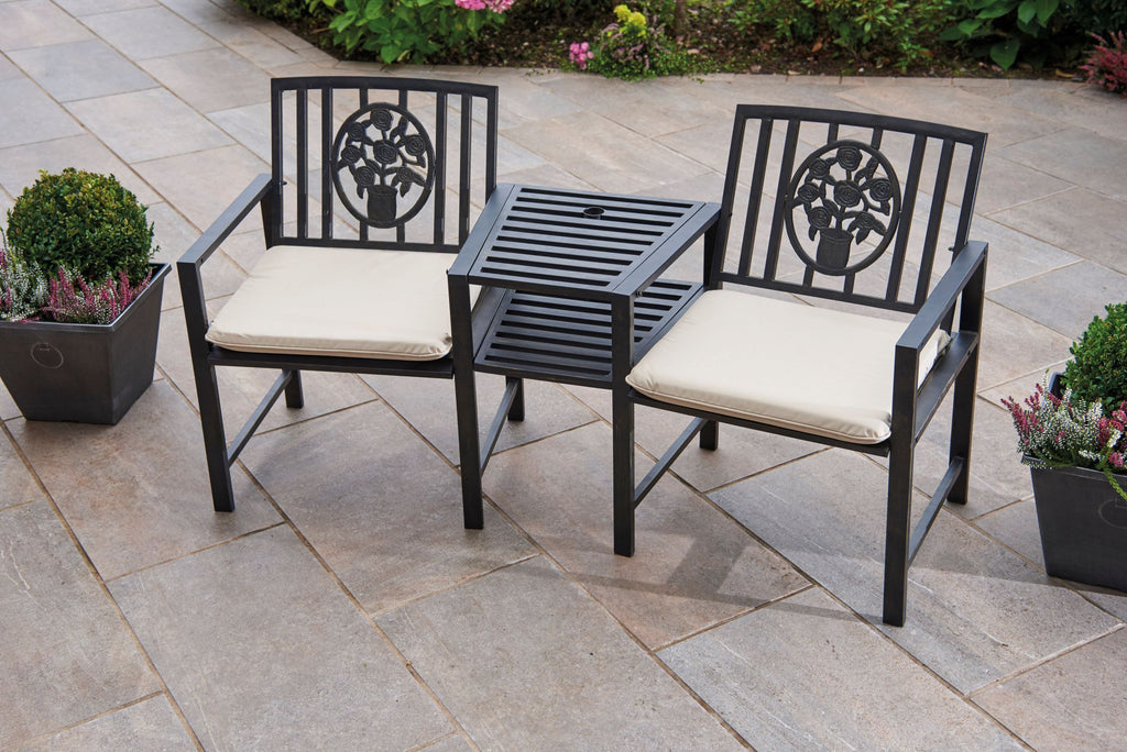 Greenhurst Coalbrookdale Duo Bench & Table