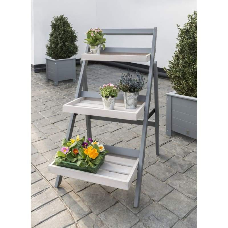 Florenity Grigio Folding Pot Shelf - Folding Pot Shelf