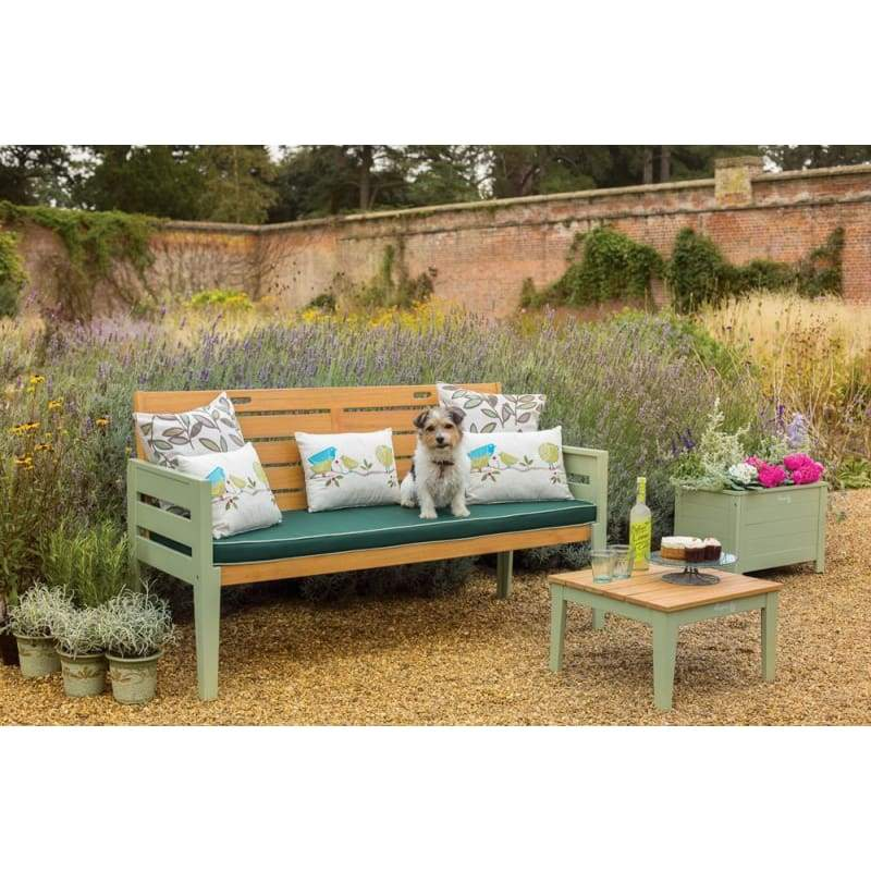 Florenity Verdi Three Seat Bench - Garden Benches