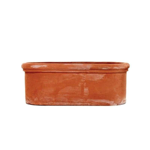 Oval Terracino Terracotta Trough - Garden Pots