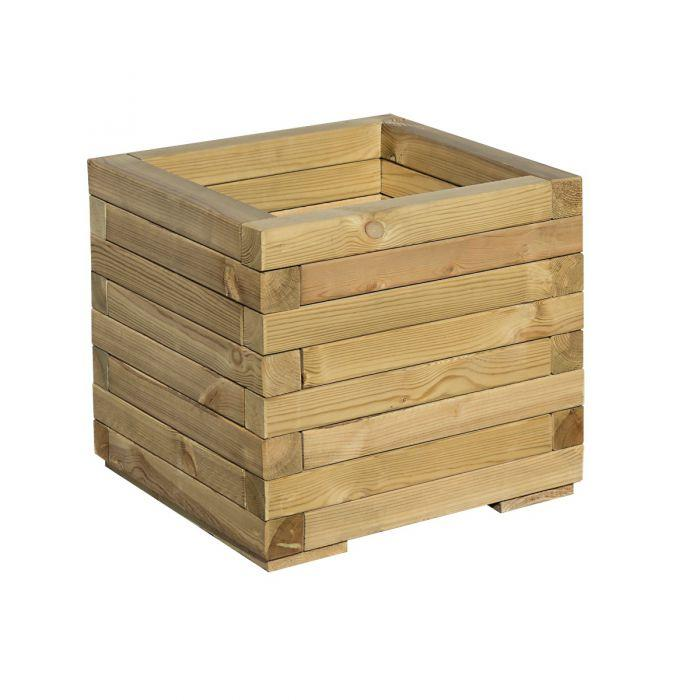 Rowlinson Wooden Square Patio Planter