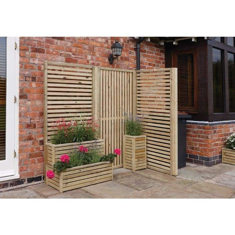 Rowlinson Garden Creations Vertical & Horizontal Screens - Garden Screens